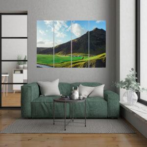 Wall Art - 40x90 - 4 Τεμάχια